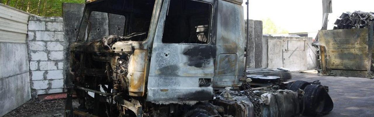 Aufnahme Kaskoschaden mit Beweissicherung eines Brandschadens!